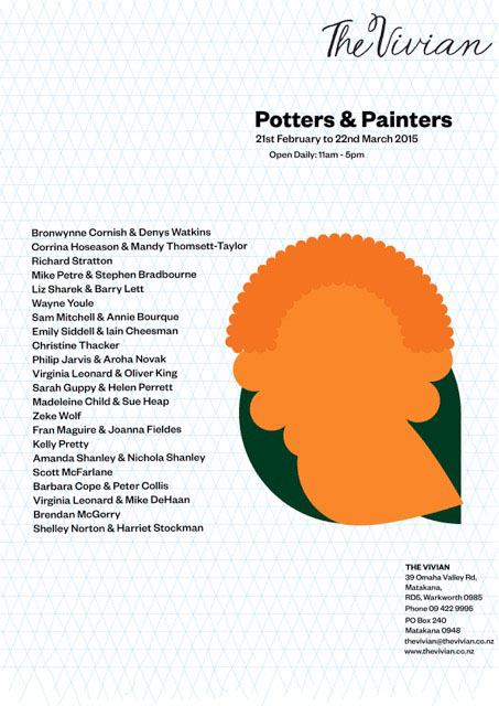 potters painters vivian invitation